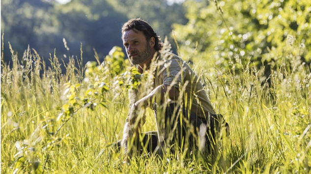 Rick in grass