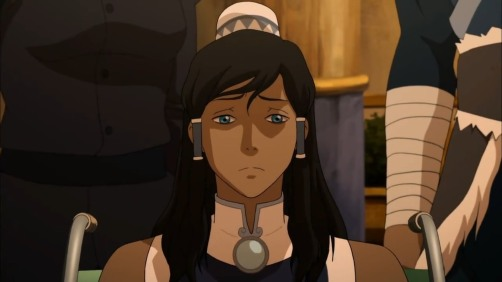 korra is a wheelchair