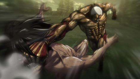 Eren vs Reiner