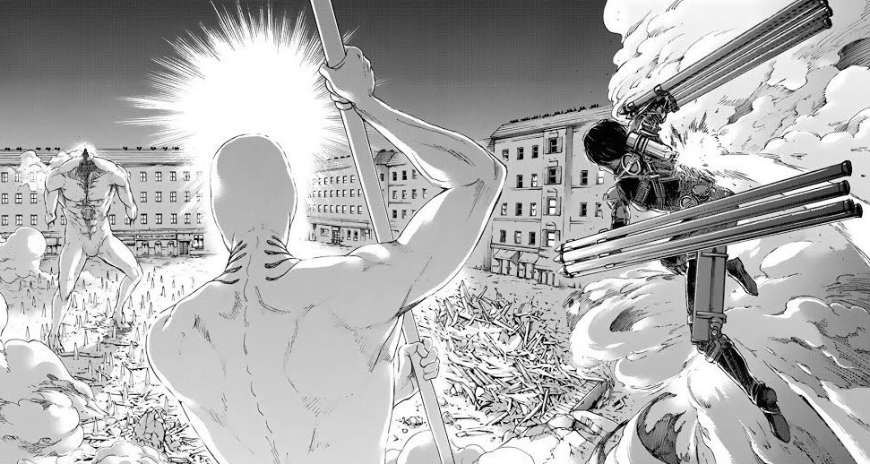 Attack On Titan Volume 25 Chapter 100 Arrives With A Bang The Review Monster Attack on titanattack on titan. attack on titan volume 25 chapter 100