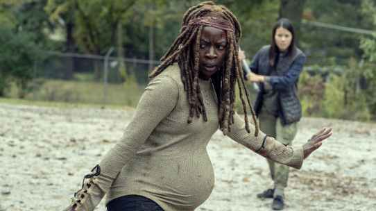 Pregnant michonne kills.jpeg