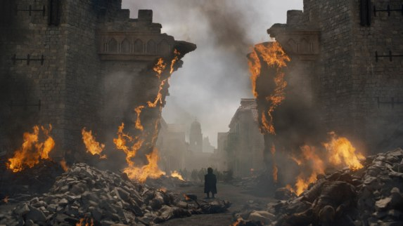 burning King's Landing