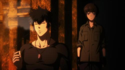 Kogami and Akane