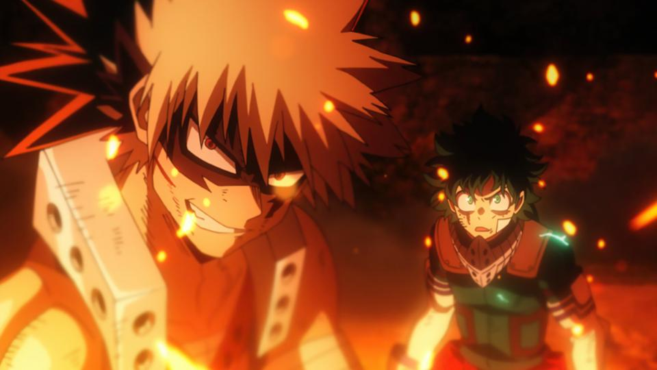 bakugo and deku