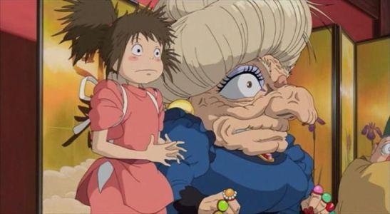 Chihiro and Yubaba
