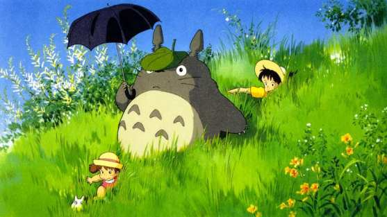 kids and totoro